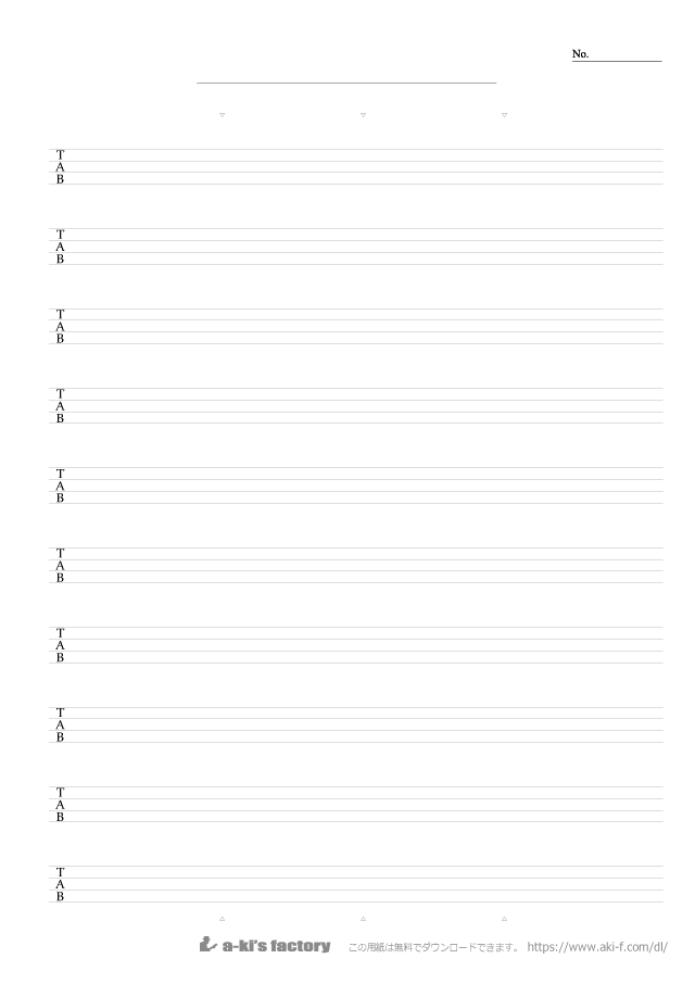 tab 譜 エクセル